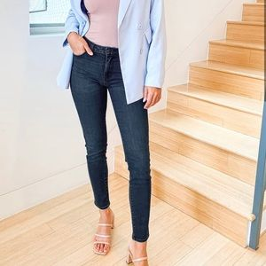 Burberry Brit Skinny High Rise Jeans
